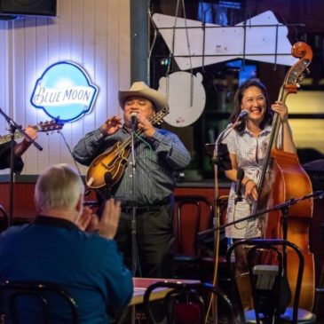 Bluegrass Republic & The Colonel's String Band—Sat, July 27 + Boulevard Music Summer 4 page Flyer Download